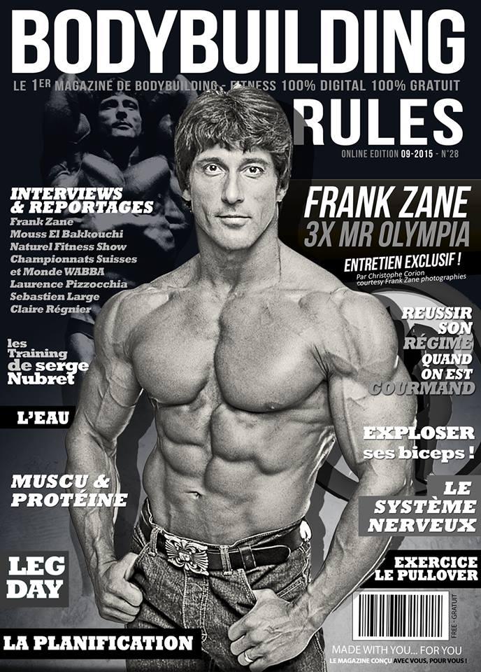 Bodybuilding-rules : Numéro de septembre 2015