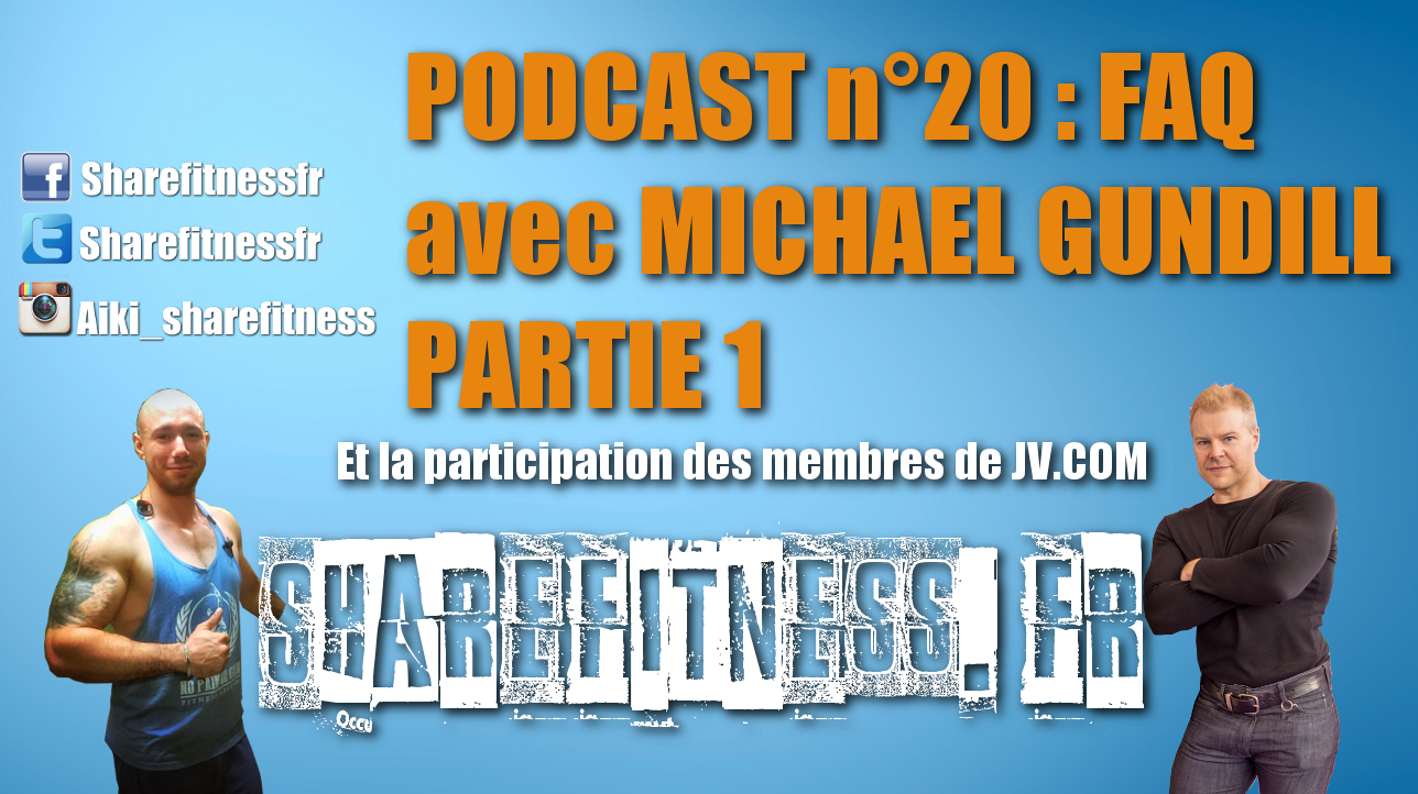 Podcast n° 20 : FAQ avec Michael Gundill : Training, diete, dopage… Partie 1