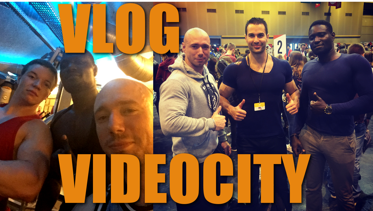 VLOG : Rencontre avec Jean Onche , Rudy Coia… Evolution – Videocity 2015