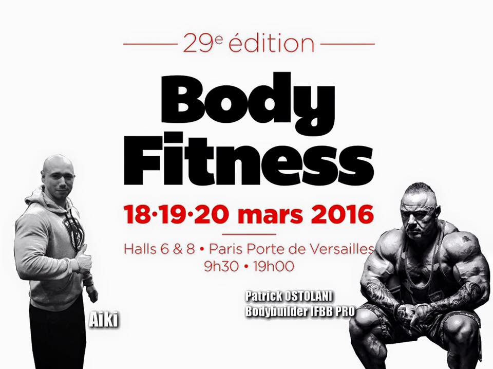 Salon Mondial Bodyfitness 2016 de PARIS
