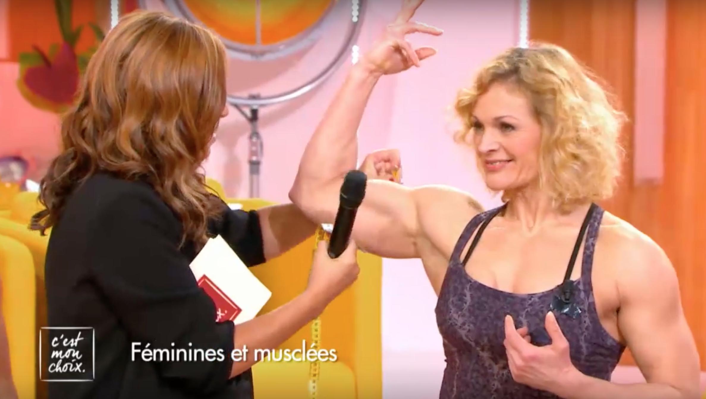 femme bodybuilder rencontre