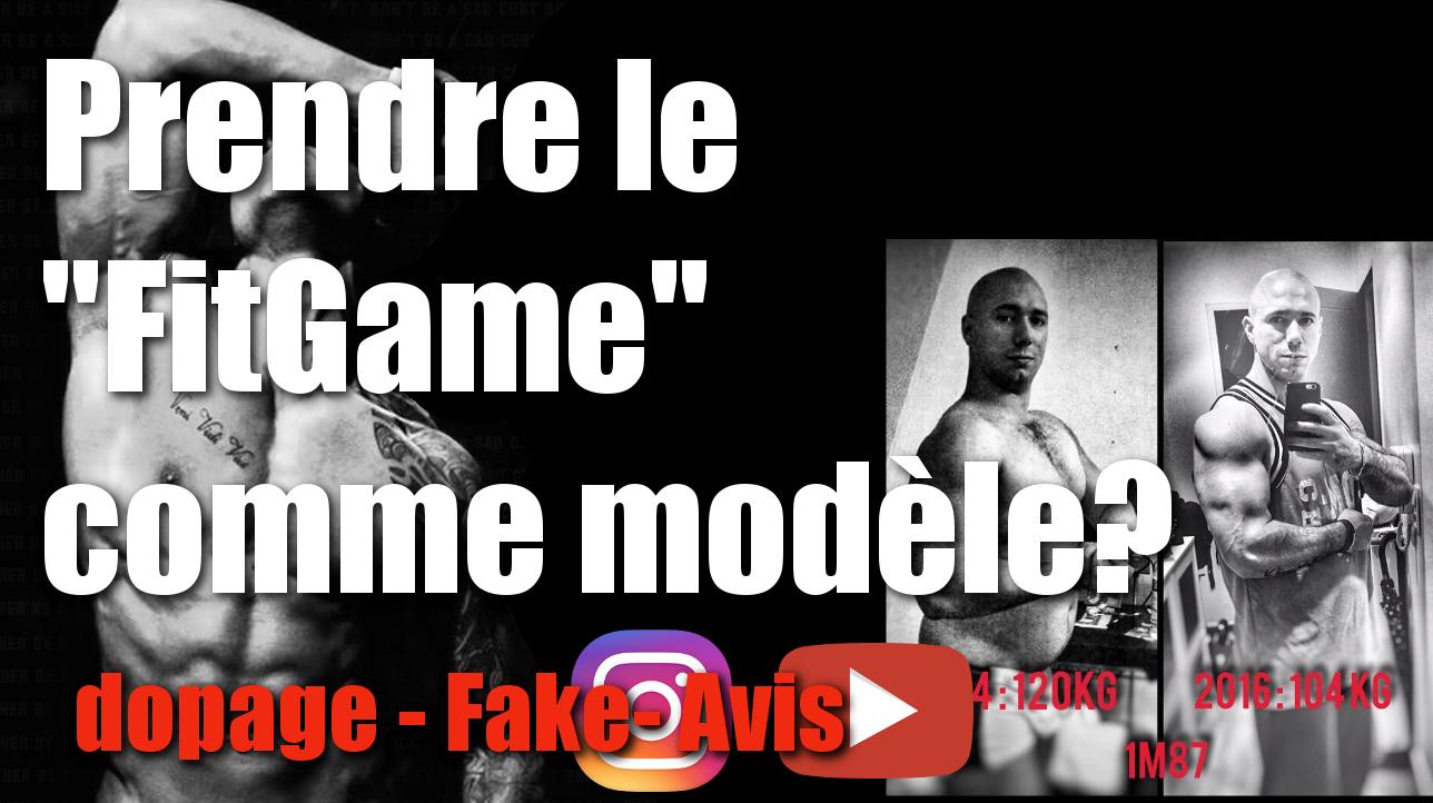 """Prendre le """"Fitgame"""" comme modèle : dopage, fake, avis"""