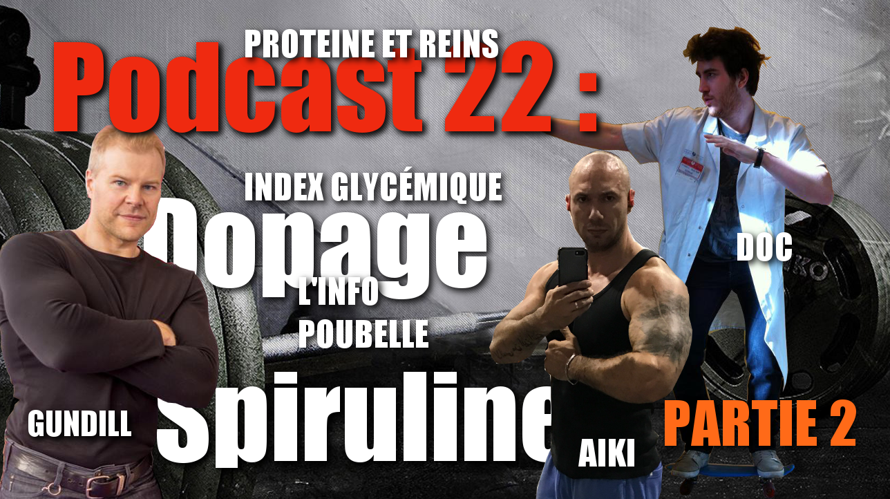 "Podcast n°22/2: ""Prescription de produits dopants "" Michael Gundill et le Doc"