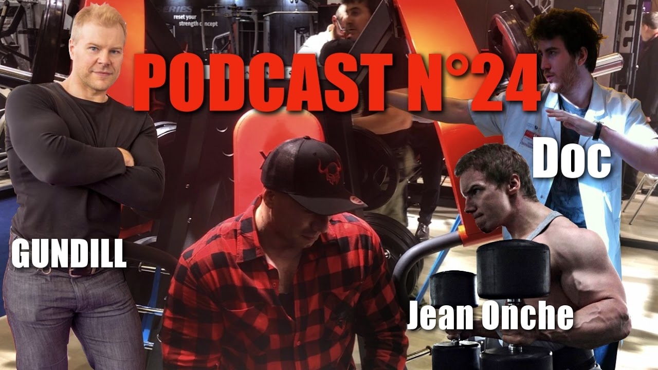 Podcast n°24 : Salon Bodyfitness 2017 , Le Fitgame avec Jean Onche le Musclay – Gundill-le Doc
