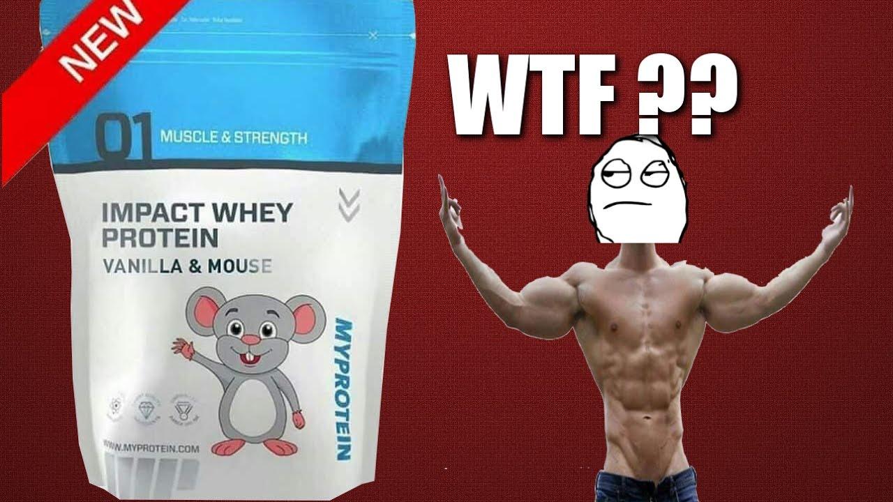 De la Whey à la souris chez myprotein ?