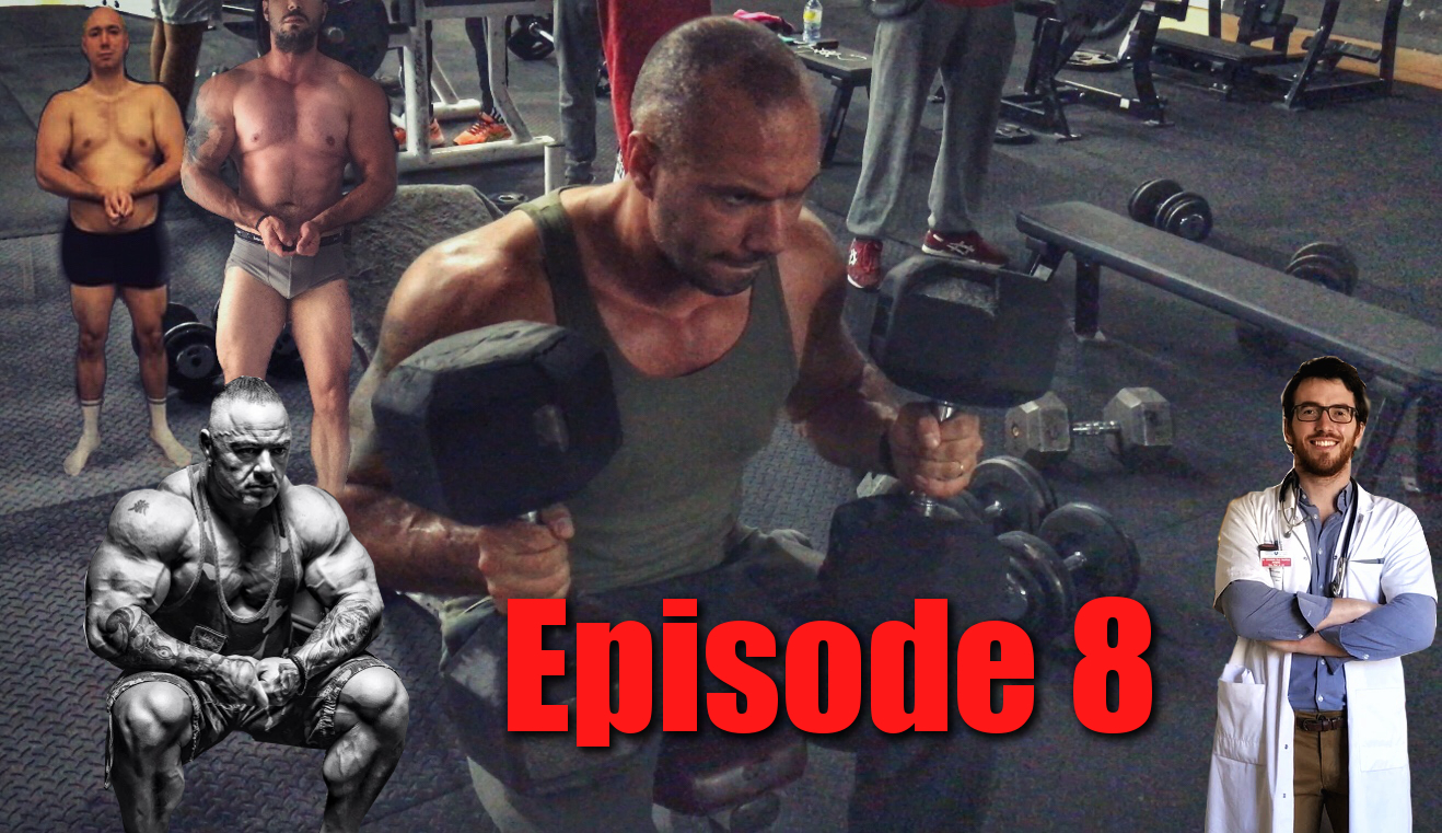 JE DEVIENS BODYBUILDER # 8 :TRAINING PECS – LES RISQUES DES FRUITS Feat Le DOC & P. OSTOLANI