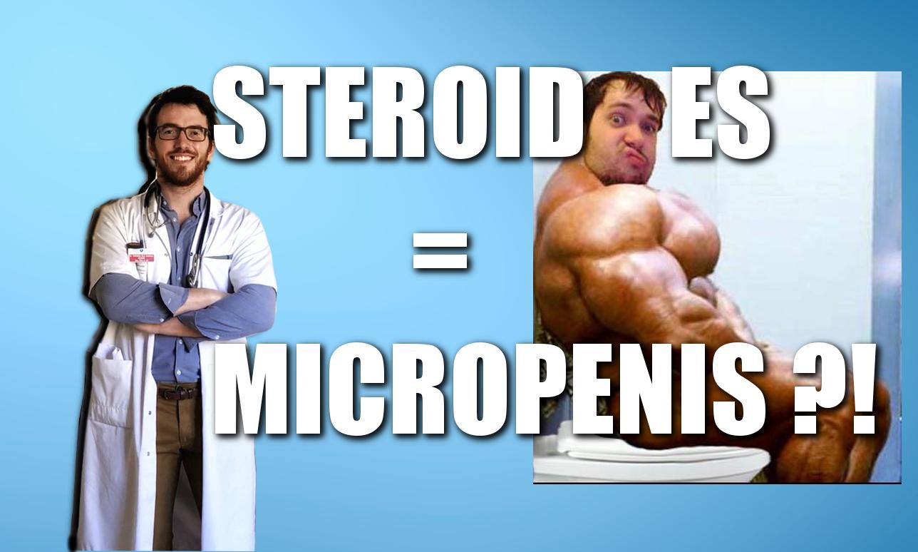 Chronique du Doc' #9 : STEROIDES = MICROPENIS?!