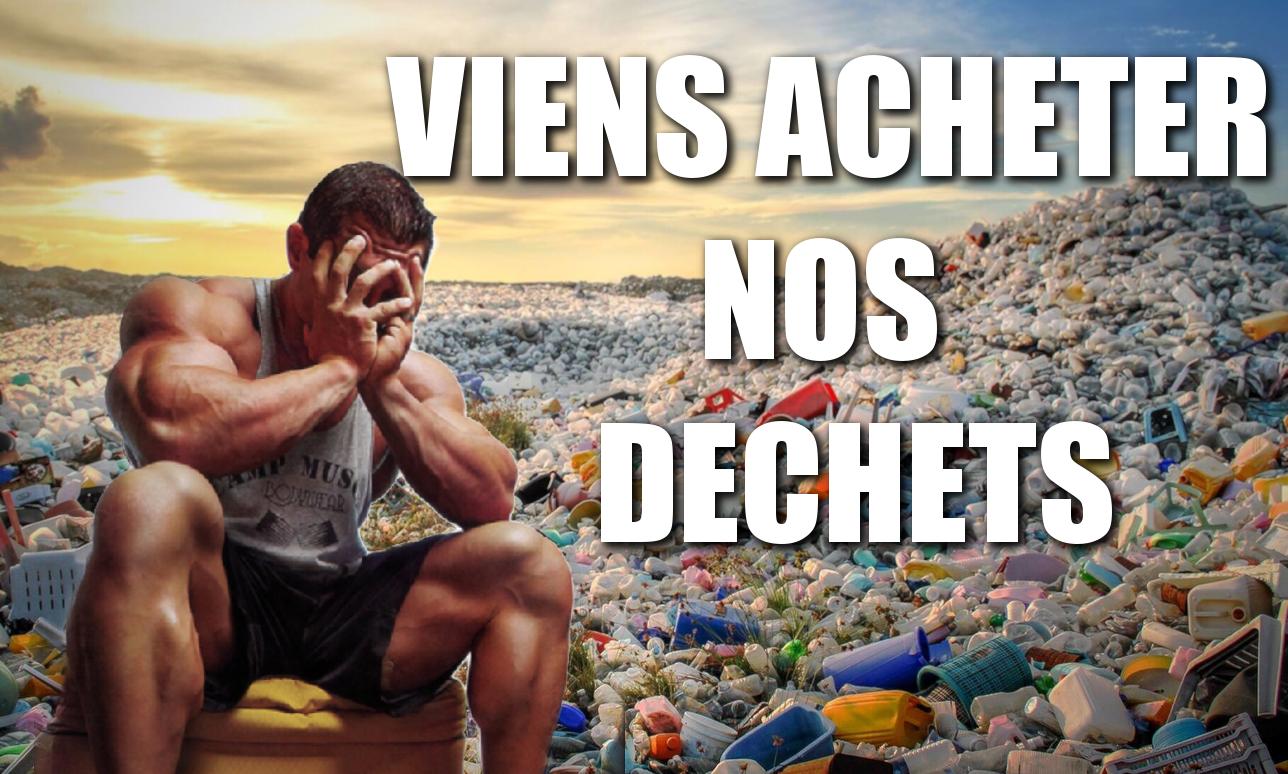 SCANDALE : T'ACHETES DE LA PROTEINE POUBELLE