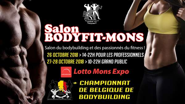 SALON DU FITNESS EN BELGIQUE : SALON BODYFITNESS MONS