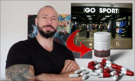 GO SPORT vendrait des PRODUITS DOPANTS ?! XENO ANDROGENES – Mon avis