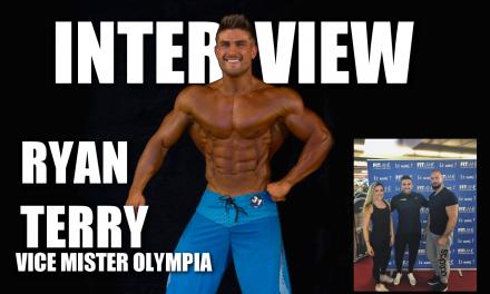 J'interview un VICE MISTER OLYMPIA :  RYAN TERRY  (sous titres en Français)