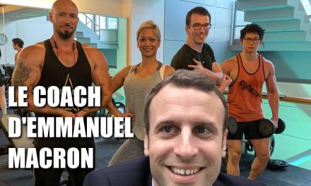 On s'entraine avec le coach d'EMMANUEL MACRON ?! ( échauffement des épaules, training, prank …)